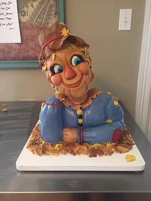 Scarecrow - Cake by Suzie Wilcox