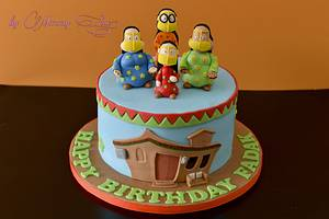 """Freej Cake """"The Fun Old Girls"""" - Cake by Mommy Sue"""