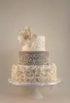 Elegant and fun - Cake by Cake My Day