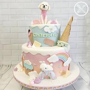 Kawaii cake - Cake by Tortami a casa