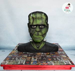 Frankenstein - Cakensteins Monsters Collaboration - Cake by Little Cake Fairy Dublin