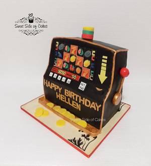 Slot Machine  - Cake by Sweet Side of Cakes by Khamphet