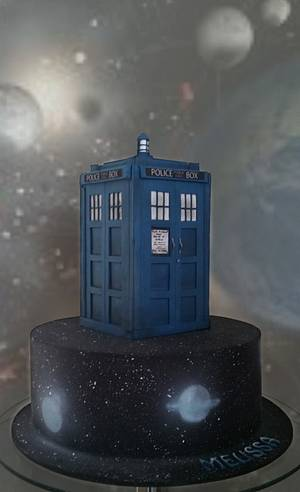 Doctor Who  - Cake by Unusual cakes for you
