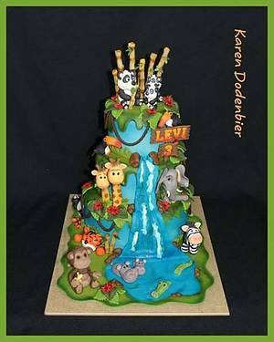 Jungle cake - Cake by Karen Dodenbier