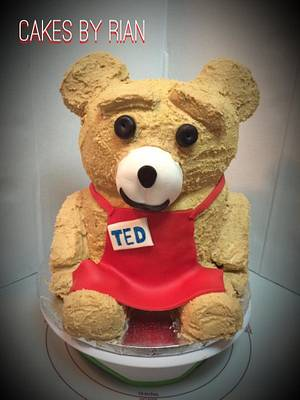 TED Cake - Cake by Cakes By Rian