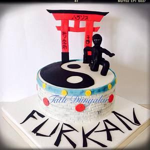 My son birthday cake :) Mini Ninja's :) - Cake by Tatlı Dünyalar by Vildan Özkara