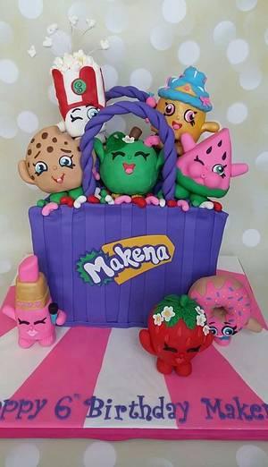 Shopkins - Cake by cakemomma1979