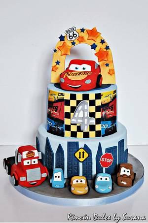 Cars cake / tarta cars - Cake by rincondulcebysusana