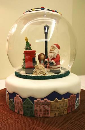 A letter to Santa - Cake by Ana Miranda