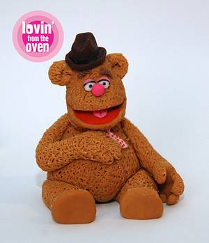 Fozzie Bear & the Muppets - Cake by Lovin' From The Oven