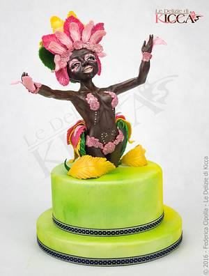 Samba - Cake by  Le delizie di Kicca
