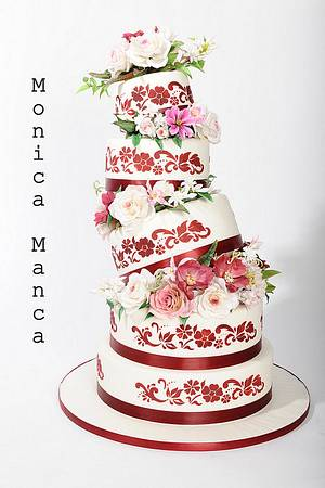 Wedding Cake - Cake by Monica Manca