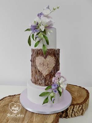 Wedding cake ... - Cake by MOLI Cakes