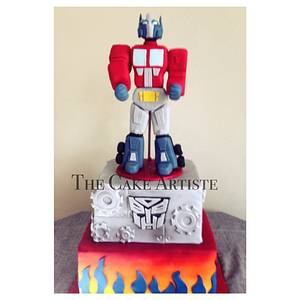 Optimus Prime  - Cake by Aida Casanova