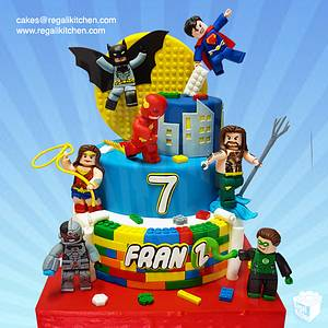 Lego Justice League Cake - Cake by Cakes by The Regali Kitchen
