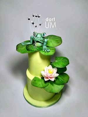 Funny frog - Cake by dortUM