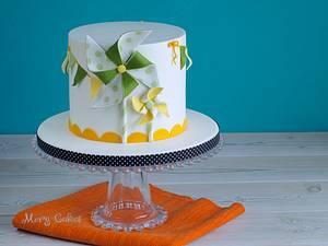 Pinwheels cake - Cake by Mery Cakes