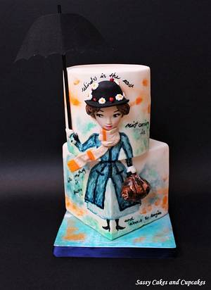 CPC Collaboration- Mary Poppins - Cake by Sassy Cakes and Cupcakes (Anna)
