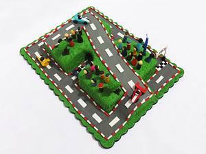 7th Birthday Race Track Cake - Cake by Larisse Espinueva