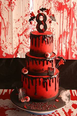 Zombie Cake - Cake by Sweet Tooth Cakes