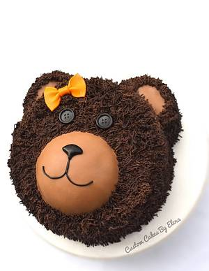 Teddy bear - Cake by Elena