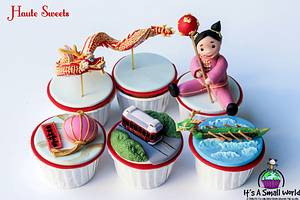 It's A Small World Cupcake Collaboration - Hong Kong - Cake by Hiromi Greer