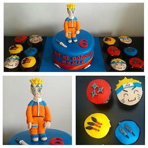 Naruto Cake&Cupcakes - Cake by PastaLaVistaCakes