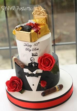 Godfather Cake - Cake by Sihirli Pastane