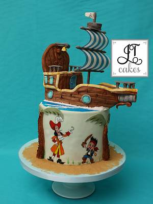 Jake and the Neverland Pirates - Cake by JT Cakes