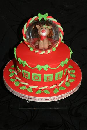 Rudolph 2 because I loved him! - Cake by Judy