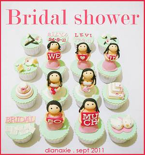 Bridal Shower - Cake by Diana