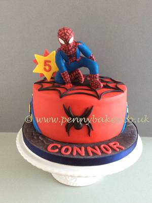 Spider-Man  - Cake by Penny Sue