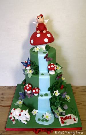 Enchanted Forest Cake - Cake by Rachel Manning Cakes