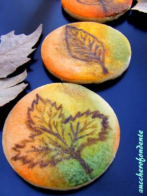Autumn leaves cookies - Cake by zuccherofondente