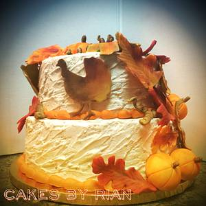 Thanksgiving/Autumn Cake - Cake by Cakes By Rian