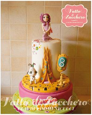 Mia and Me - Cake by Fatto di Zucchero