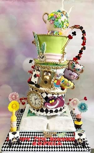Alice in Wonderland  - Cake by Tiers of joy