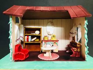 Fantasy World - Cakerbuddies Miniature Doll House Cake Collaboration- Home Sweet Home - Cake by SeasonsofCakes