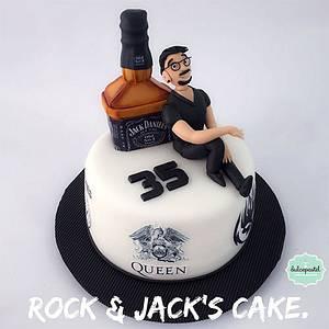 Torta Rock Medellín - Cake by Dulcepastel.com