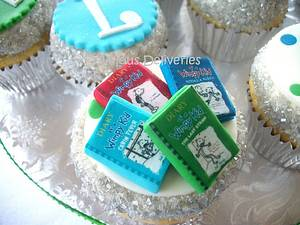 Diary of a Wimpy Kid and Dork Diary Cupcakes - Cake by DeliciousDeliveries