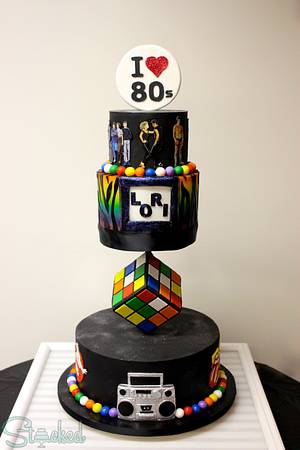 I Love The 80s!  - Cake by Stacked