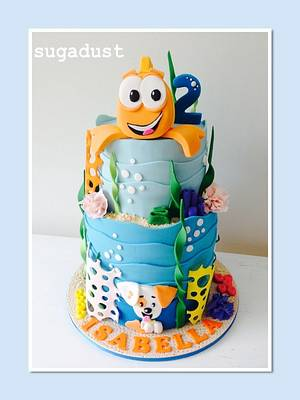 Bubble Guppies starring Mr Grouper - Cake by Mary @ SugaDust