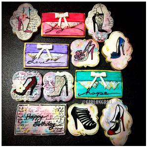 Obsessed with Shoes - Cake by Rachel