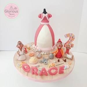 Cinderella Dress - Cake by funni