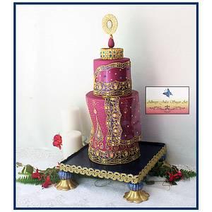 """""""Lavish Silk"""" - Cake by Allways Julez"""