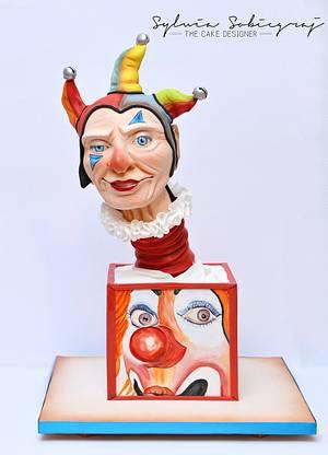 The Clown - Cake International 2016 - Cake by Sylwia Sobiegraj The Cake Designer