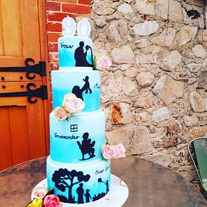 Four generations of cake. - Cake by Cakesters