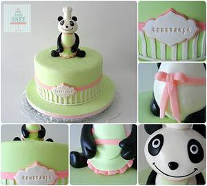 Chef Panda Cake - Cake by CakeCakeCake