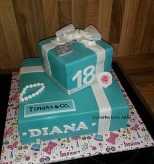 Tiffany & Co. - Cake by Adéla