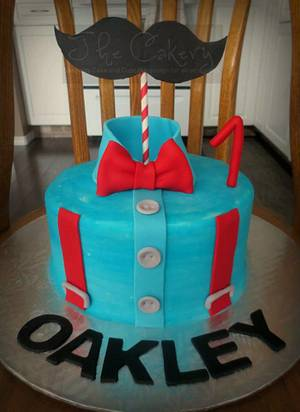 Little Gentleman cake - Cake by The Cakery